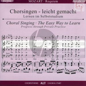Requiem d-moll KV 626 Alt Chorstimme CD