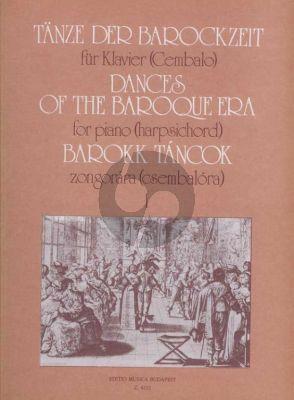 Dances of the Baroque Era Vol.1 Harpsichord (Olivér Nagy)