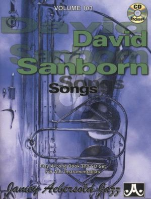 Sanborn Jazz Improvisation Vol.103 David Sanborn Bk-Cd