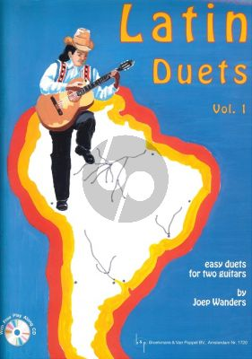 Wanders Latin Duets Vol.1 (Bk-Cd) (Easy Duets with Play Along Cd) (Grade 1 - 2)