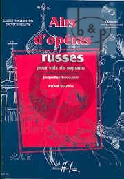 Airs d'Operas Russes Voix Soprano-Piano and Cd