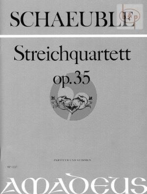 Quartet Op.35 (2 Vi.-Va.-Vc.)