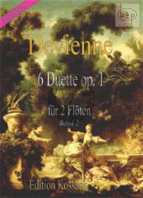 6 Duette Op.1 Vol.2 (No.4 - 6) 2 Flutes