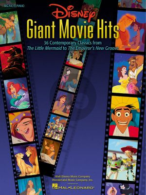 Giant Movie Hits for Piano
