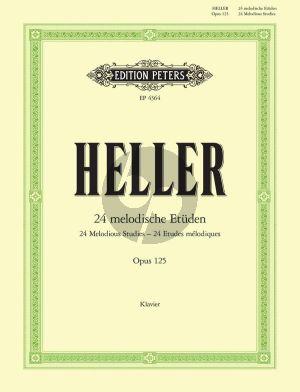 Heller 24 Melodische Etuden op.125 Klavier (Peters)