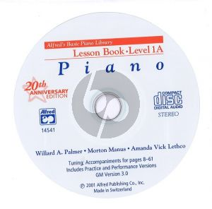 Lesson Book Level 1A (alleen Cd)
