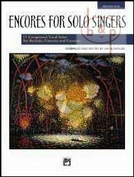Encores for Solo Singers (Med.High) (Bk-Cd)
