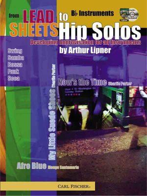 Lipner From Lead Sheets to Hip Solos (Bk-Cd) (Bb Instr.) (Developing Improvisation)