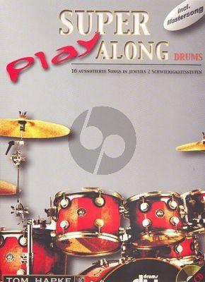Hapke Super Play Along Drums Bk-Cd