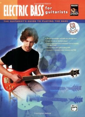 Electric Bass for Guitarists (Bk-Cd) (The Guitarist's Guide to Playing the Bass)
