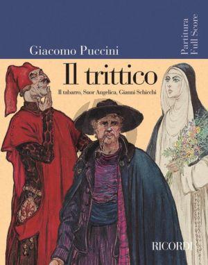 Puccini Il Trittico (Il Tabarro-Suor Angelica- Gianni Schicchi)