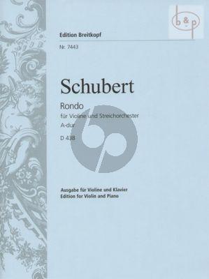 Rondo A-major D.438 (Violin-String Orch.)