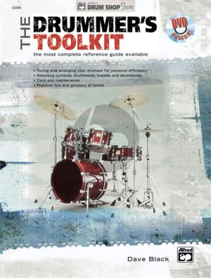 Black Drummer's Toolkit (Bk-DVD) (Most Complete Reference Guide Available)