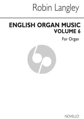 English Organ Music Vol. 6