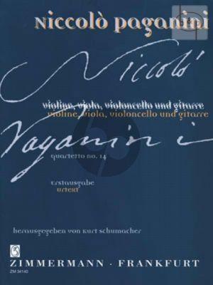 Quartetto No.14 (Vi-Va-Vc-Git) (Partit/Stimmen)
