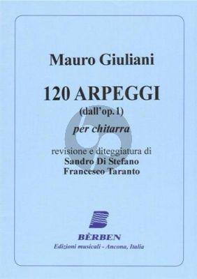 Giuliani 120 Arpeggi (dall'Op.1) Guitar