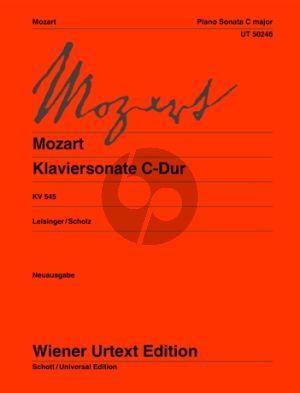 Sonate C-dur KV 545 Klavier (Neuausgabe)