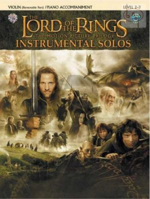 Lord of The Rings Trilogy for Violin with Piano Accompaniment