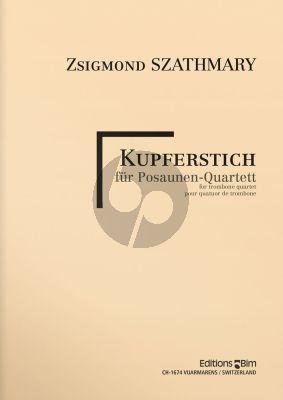 Kupferstich 4 Trombones