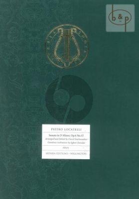 Sonata D-Minor Op.6 No.12 Violoncello-Bc