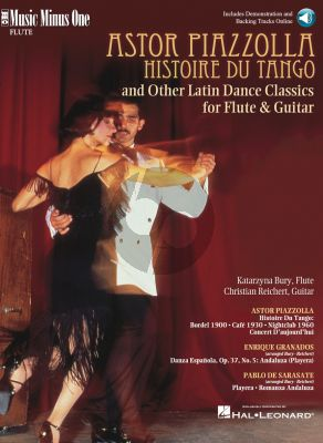 Piazzolla Histoire du Tango and Other Latin Dance Classics Flute (Bk-Cd) (MMO)