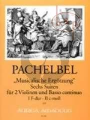 Musicalische Ergotzung 6 Suiten Vol.1