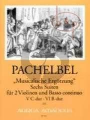 Musicalische Ergotzung 6 Suiten Vol.3 (No.5 C-dur/No.6 B-dur