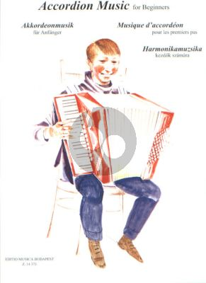 Accordion Music for Beginners (edited by László Ernyei)