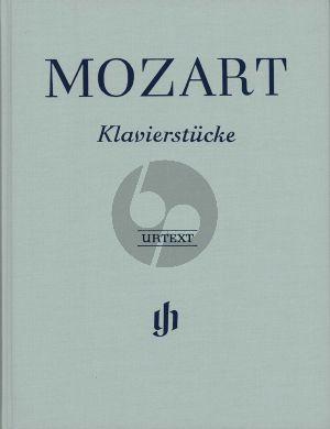 Mozart Klavierstucke (Henle-Urtext) (Clothbound)
