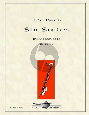 Bach 6 Suites BWV 1007-1012 for Bass Clarinet Solo (arranged by Michael Davenport)