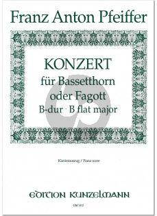 Pfeiffer Konzert B-Dur Bassetthorn oder Fagott (KA.)