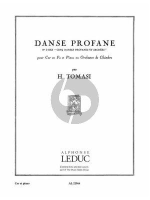 Tomasi Danse Profane No. 2 Cor et Piano