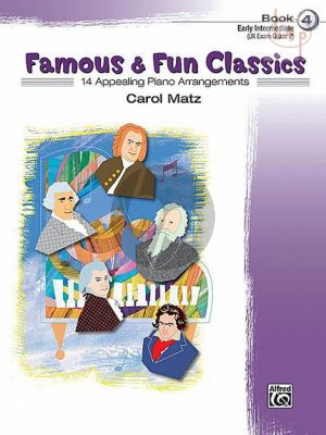 Famous & Fun Classics Vol.4 (Early Intermediate)