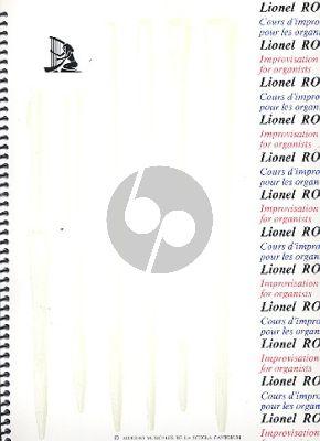 Rogg Cours d'Improvisation Vol.1 pour tous les Organistes (French/English)