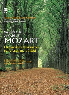 Mozart Concerto A-major KV 622 Clarinet-Orchestra (Bk-Cd) (MMO)