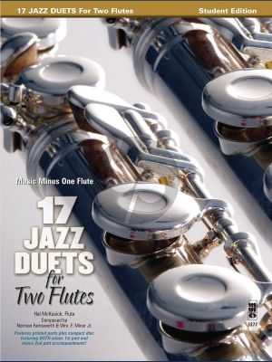 17 Duets for 2 Flutes Book with CD (MMO) (Hal McCusick)