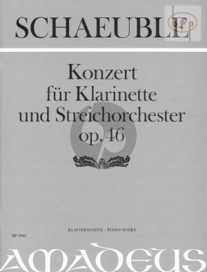 Concerto Op.46 (1969) (Clarinet-String Orch.)