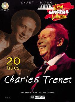Trenet 20 Songs (Voice-Piano) (Bk-Cd)