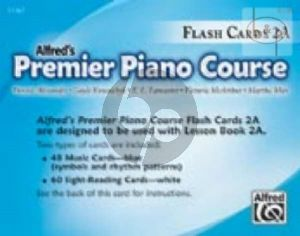 Premier Piano Course Book 2A Flash Cards