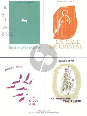 Ibert Histoires (4 Pieces Celebres) pour Piano