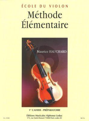 Methode Elementaire Vol.1 pour Violon