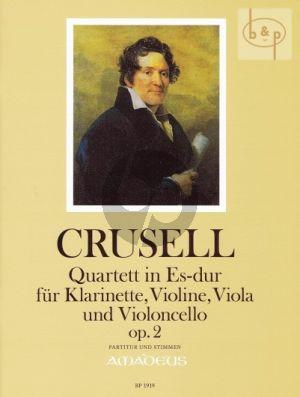 Quartett Es-dur Op.2 (Clar.in Bb)