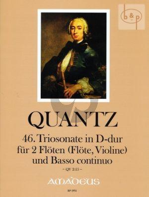 Triosonate No.46 D-dur (QV 2:15)