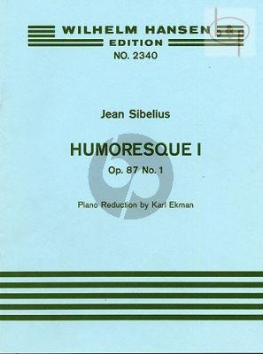Humoresque No.1 Op.87 / 1