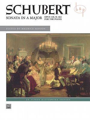 Sonata A-Major Op.120 D.664