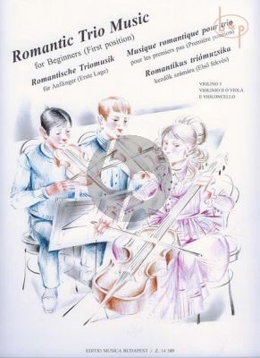 Romantic String Trios for Beginners (First Position)