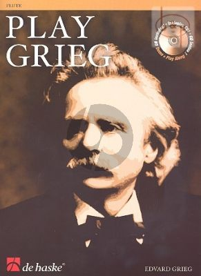 Play Grieg for Flute (Bk-Cd) (Kernen-Kampstra) (play-along and demo CD)