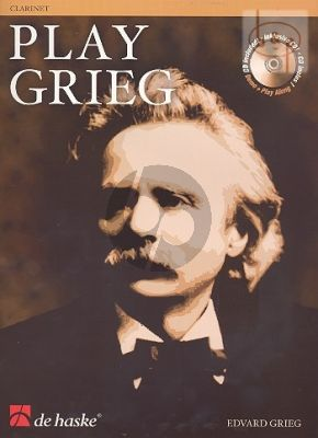 Play Grieg for Clarinet (Bk-Cd) (Kernen-Kampstra) (interm.) (play-along and demo CD)