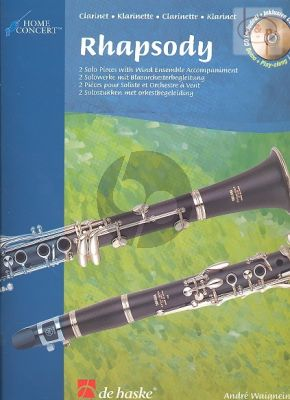 Rhapsody (Clarinet-Band) (piano red.) (with Play-Along-Demo CD)