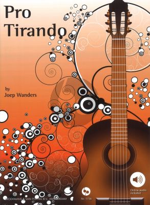Wanders Pro Tirando for Guitar (Bk-with Demo Cd)